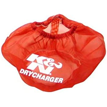 For Your K/&N RF-1001 Filter K/&N RF-1001DR Red Drycharger Filter Wrap