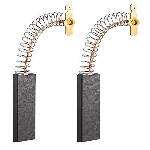 EasyULT 2pcs Spazzole in Carbonio Spazzole Motore per Lavatrice Siemens WM, WxB, WXL, XLM, SIWAMAT, Extra Classe, Riparazione Parte Carbonio Spazzole per Generico Motore Elettrico