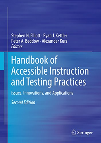 Handbook of Accessible Instruction and Testing Practices: Issues, Innovations, and Applications (English Edition)