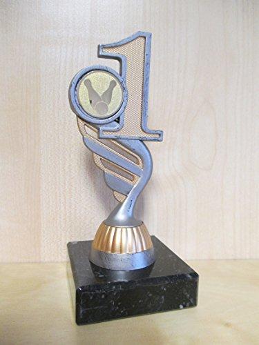 Kegeln - Kegler - Figur - Resin 15 cm - Pokal -