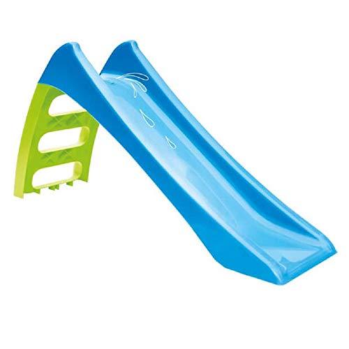 Mochtoys Kinderrutsche, Wasserrutsche 11050 Rutschlänge 116 cm, Höhe 62,5 cm, Farbe:blau
