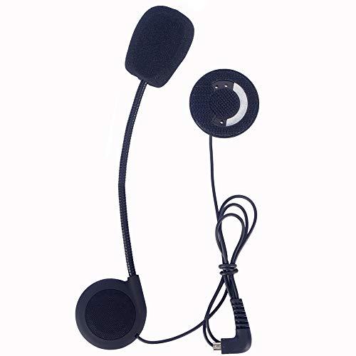FLLOVE FANGLIANG Tubo de la Motocicleta del intercomunicador del Casco Accesorios Duro del micrófono Auricular en Forma for el TCOM-OS-SC TCOM BT intercomunicador