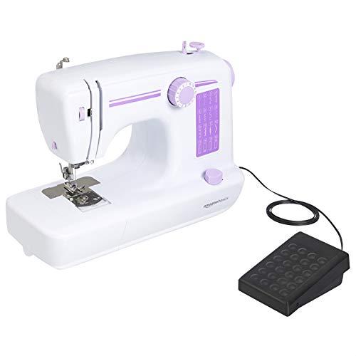 Amazon Basics – Máquina de coser doméstica de 16puntadas, con velocidad variable
