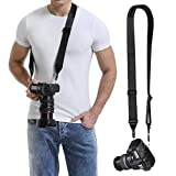 waka Rapid Slide Camera Neck Shoulder Strap with Quick Release, Adjustable Camera Sling
