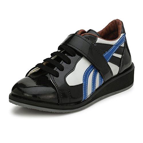 ASE Men's Black Running Shoes - 7UK/INDIA (41 EU)