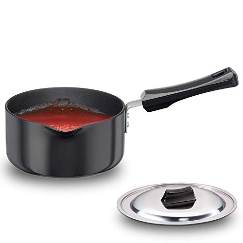 Hawkins Futura Hard Anodised Induction Compatible Saucepan with...