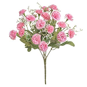 Dserw Artificial Flowers, Artificial Flowers, Hydrangea, Carnation Bouquets, Wedding Home Decoration, Party Family Holiday Decoration