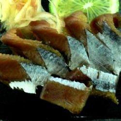 さんま(秋刀魚)のスモークサンマ燻製