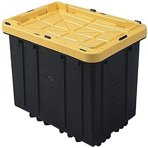 Gracious Living Heavy Duty Stackable Strong Box, 27-Gallon