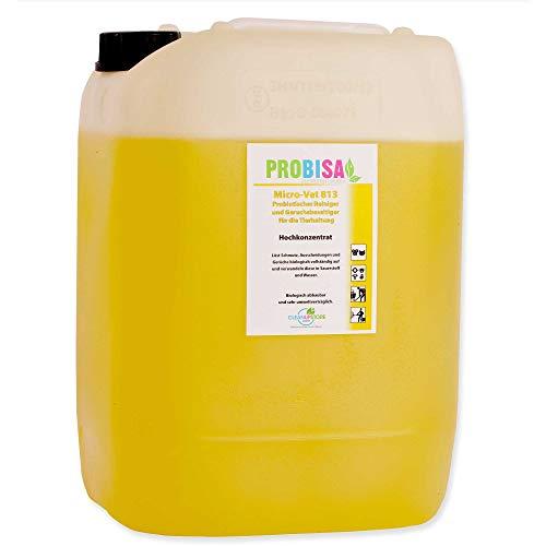 PROBISA Geruchsneutralisierer gegen Gerüche von Katzen-Urin, Hund, Nager und Haustiere (Konzentrat ergibt 1000 Liter gebrauchsfertiges Bio Reinigungsmittel)