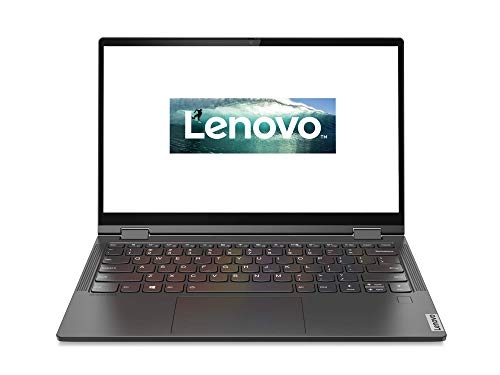Lenovo Yoga C640 33,8 cm (13,3 Zoll Full HD IPS Touch matt) Slim Convertible Notebook (Intel Core i5-10210U, 8GB RAM, 256GB SSD, Intel UHD Grafik, Windows 10 Home) silber