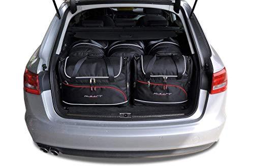 KJUST Dedizierte Reisetaschen 5 STK kompatibel mit Audi A6 Avant C7 2011 - 2017