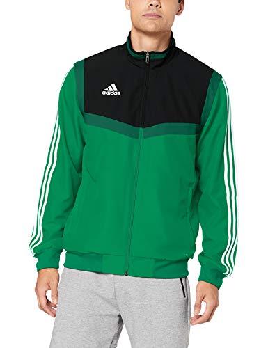 adidas Tiro 19, Giacca da Rappresentanza Uomo, Bold Green/White, XL