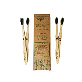 Natural Alt Bamboo Toothbrush 4 Pack