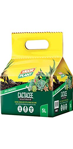 VIGORPLANT Terriccio per La Coltivazione delle Piante Grasse Confezione da 5 LT