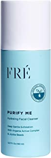 FRÉ Skincare Purify Me Hydrating Facial Cleanser - Deep Gentle Exfoliation - Provides Hydration and pH Balance Restoration 5.07 oz