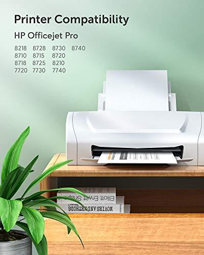 JARBO Multipack 953XL Cartuchos Reemplazo para HP 953 Cartuchos de tinta Compatible con HP Officejet Pro 8710 7740 8715 8720 8725 8210 7720 7730 8718 8218 8728 8730 8740 (Negro/Cian/Magenta/Amarillo)