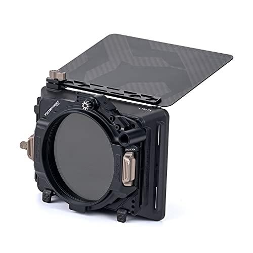 Tilta 4x5.65' Cornice filtro Mirage VND Kit Scatola opaca per fotocamere DSLR/Mirrorless, Vassoio filtro ND variabile da 95 mm Nucleus Nano Motor Adapter Custodia da trasporto avanzata MB-T16-A
