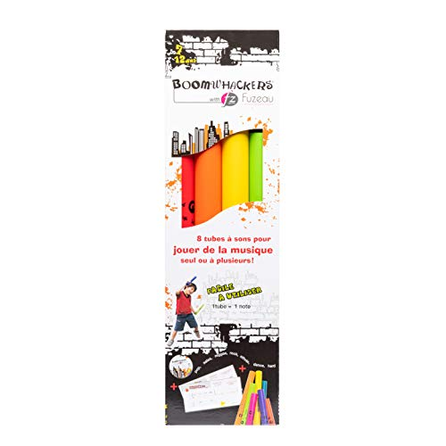 Fuzeau 71005 Boomwhackers paquete con manual/CD