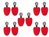 Die Schuhanzieher 5 Paar Set – Schaumstoff Schuhspanner mit Griff – Form rund – Made in Germany – z2478(35-38)