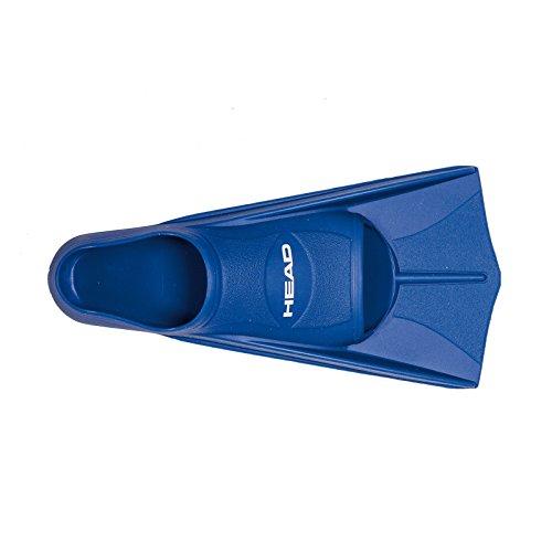 Head Swim Soft Fin - Aleta Unisex, Color Azul, Talla 43