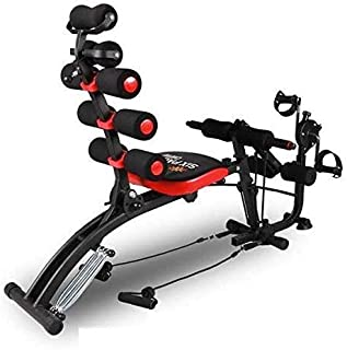 Jukkre 6 Pack ABS Exerciser Machine with Cycle 22 Different Mode for Exercise and Fitness Without Cycle Home Gym
