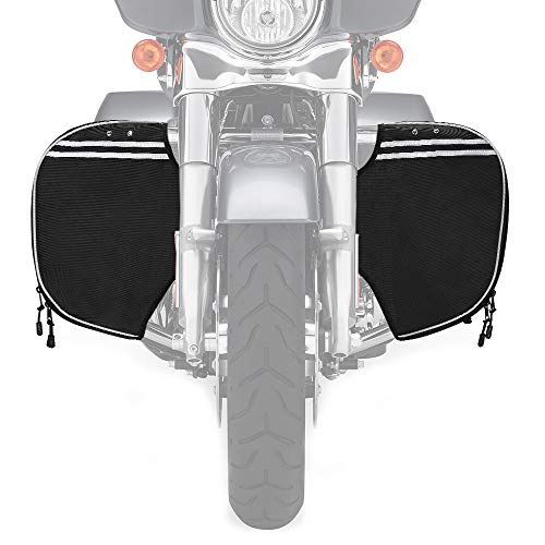 Street Glide Soft Lowers Chaps, Leg Warmers for Touring Road King Road Glide Electra Glide and Trike Models 1980-2018 2019 2020