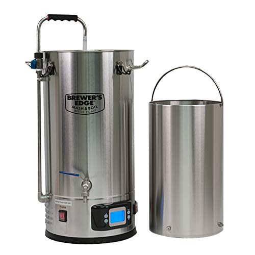 Product Image 6: Brewer's Edge Mash and Boil with Pump   All Grain Home Brewing System 7.5 Gallon