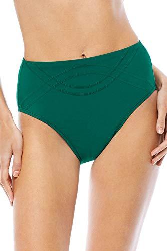 EBW Women's Collection High Waist Bikini Bottom Tide S
