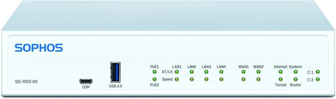 Sophos SD-RED 60 Rev.1 Remote Ethernet Device (R60ZTCHUS)