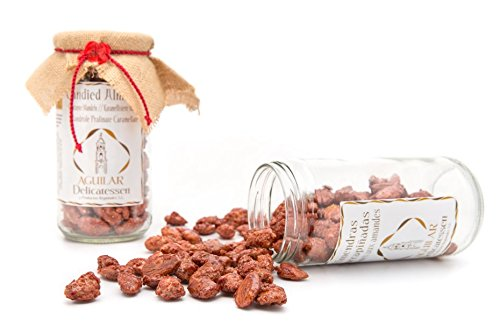 Aguilar Delicatessen - Mandrole Pralinate Caramellate 100% Artigianato 350gr - Qualità Superiore - Prodotto Spagnolo - Prodotto sviluppato in Andalusia
