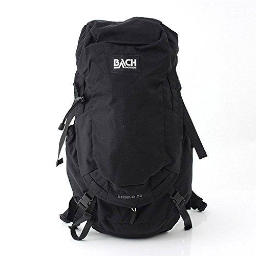 [ バッハ ] BACH バックパック 22L リュックサック デイパック Shield 22 シールド 125310 ブラック Backpack Black ナイロン バック アウトドア [並行輸入品]