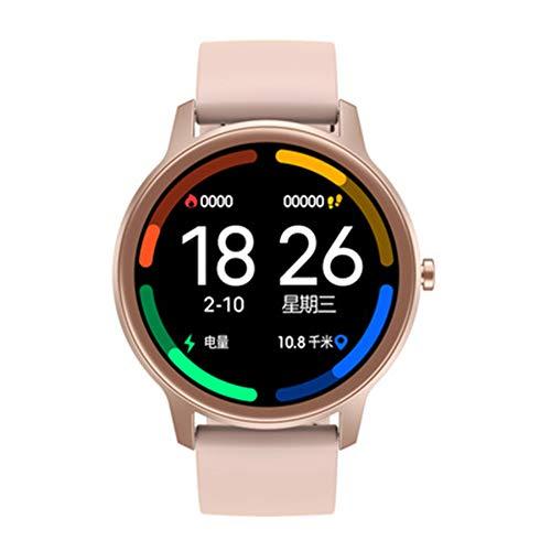 LXZ 1,28 Zoll Im Freien Gesunden Schlaf Stoppuhr Pulsuhr Bluetooth wasserdichte Multi-Sport Multifunktionalen Smart Uhr Für Männer Und Frauen,E