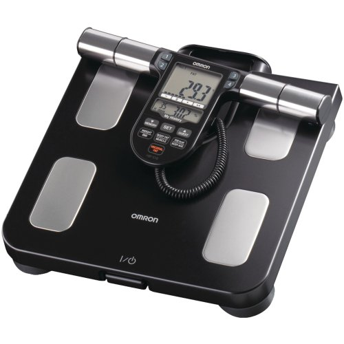 Omron HBF-516B Electronic personal scale Rectangle Black personal scal