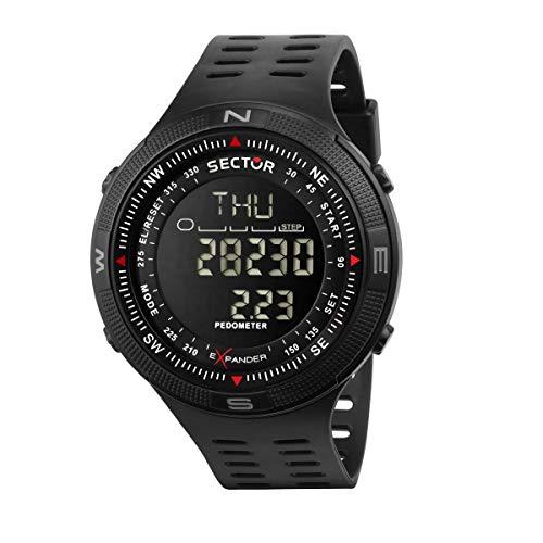Sector No Limits Reloj Hombre, Colección EX-29, Digital, Multifonción, en Plástico ABS, Poliuretano - R3251541001