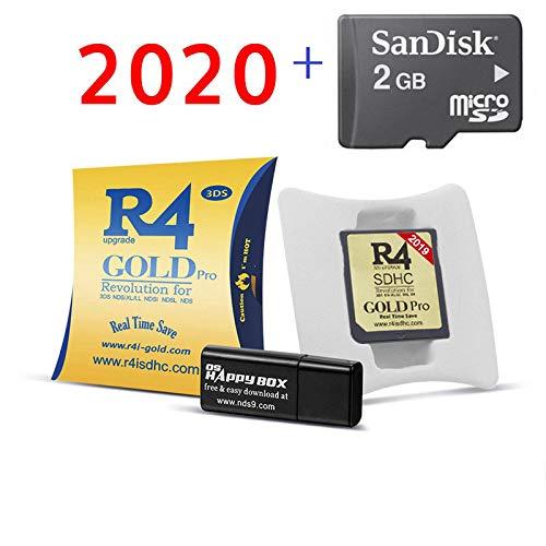 Il nuovissimo R4i GOLD Pro+Con 2GB scheda di memoria