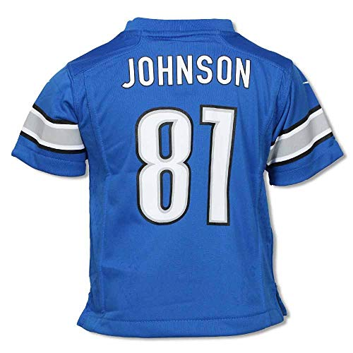 Johnson #81 Detroit Lions Toddler Replica Jersey by Nike-Toddler 2T