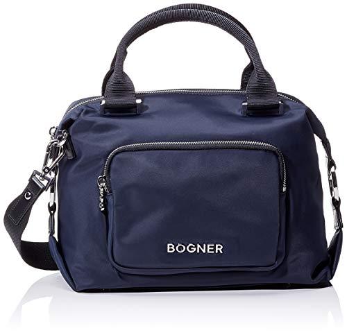 Bogner Damen Klosters Sofie Handbag Shz Henkeltasche ,Blau (Darkblue) ,12.5x21x27 cm (W x H x L)