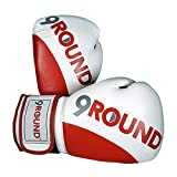 Sunny Days Entertainment 9Round Fitness Boxing Gloves for Men and Women   Heavy Bag Workout Gloves - Red (320212)