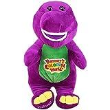 Singing friend Dinosaur Barney I love you plush doll toy Christmas gift for children 30 cm