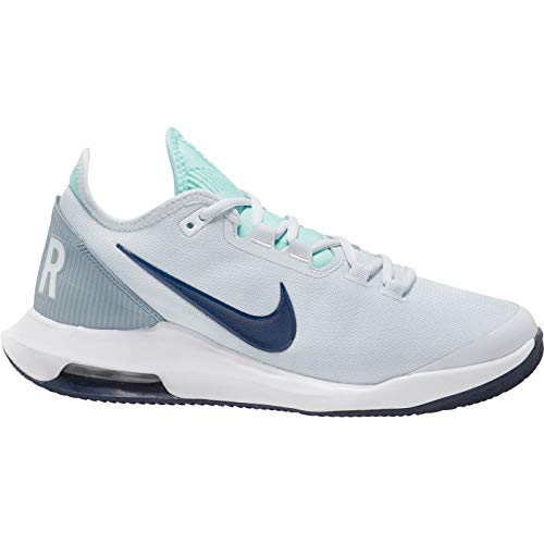 Nike Air Max Wildcard Cly, Scarpe da Tennis Donna, Grey Midnight Navy - Pallone da Calcio, Colore: Grigio, 41.5 EU