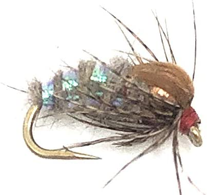 Feeder Large-scale sale Creek Holy Grail Nymph Flies Size 12 Wet in It is very popular 14