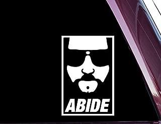 The Dude - Abide - High Quality Precision-cut Vinyl Decal / Sticker