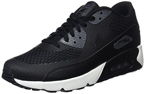 Nike Air MAX 90 Ultra 2.0 Se, Zapatillas de Gimnasia Hombre, Negro (Black/Black/Dark Grey/Sail 007), 38.5 EU