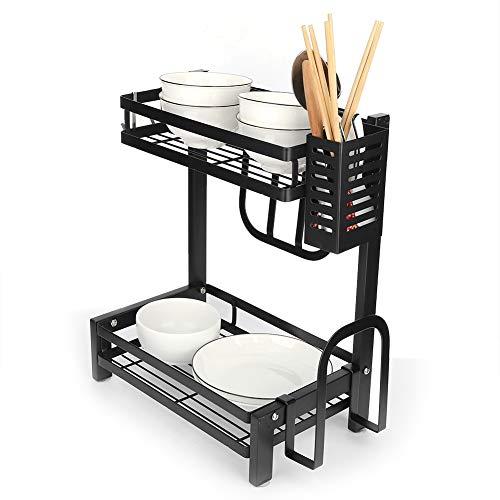 Armazenamento de organizador de cozinha, prateleira para especiarias de aço inoxidável, molho de condimento para especiarias