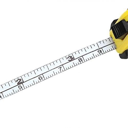 Angoter Retractable Lineal Ma/ßband Tragbarer Pull Lineal 1m Mini N/ähen Tuch Metric Tailor Werkzeugvermessung Werkzeuge Bandma/ß