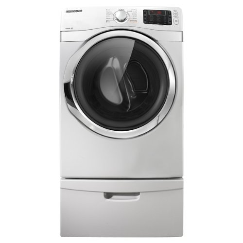 Samsung DV435ETGJWR 7.5 Cu. Ft. White Stackable With Steam Cycle Electric Dryer