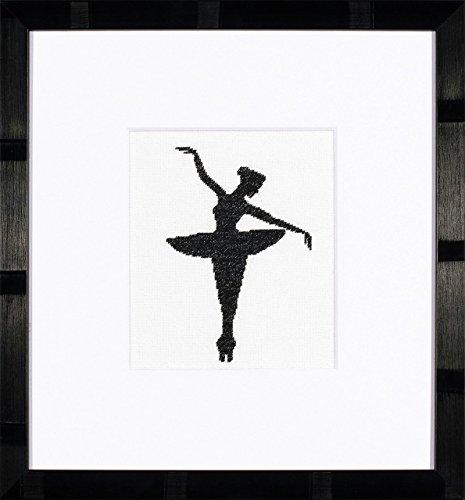 Unbekannt Lanarte PN de 0008131gezählten Kit de Punto de Cruz, Ballet Silhouette 1, ebengewebt