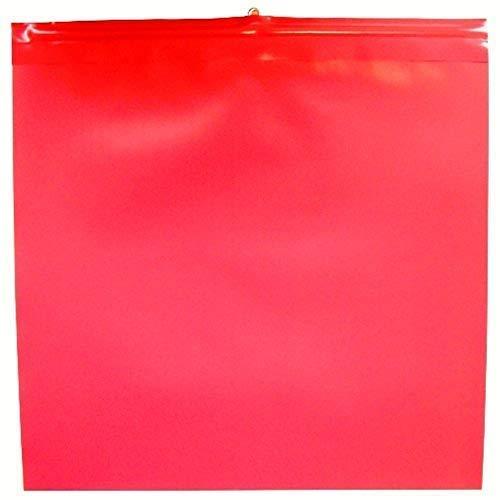 25x Warnfahne Warnflagge Überlänge Endfahne Schlussfahne rot nach StVO 30 x 30 cm