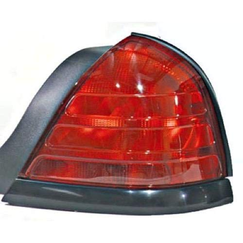 Go-Parts - for 1999 - 2011 Ford Crown Victoria Rear Tail Light Lamp Assembly / Lens / Cover - Right (Passenger) Side - (Base Model + LX + Police Interceptor + S + Special Edition) 8W7Z 13404 A